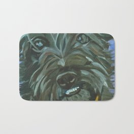 Otis the Wonder Dog Bath Mat