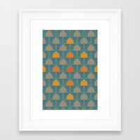camping Framed Art Prints featuring Camping by Mimi