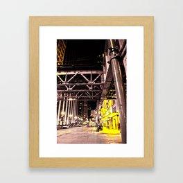Night Work Framed Art Print