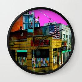 Chop Suey Wall Clock