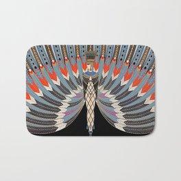 """Art Deco Design """"The Nile"""" by Erté Bath Mat"""