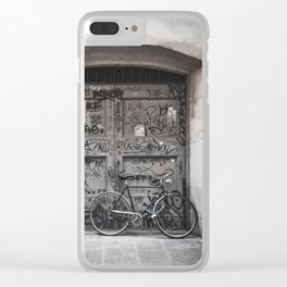 Bicycles Of Tuscany10 Clear iPhone Case