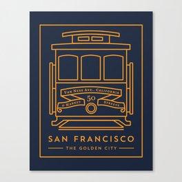 San Francisco 02 Canvas Print
