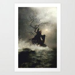 Sirenum Scopuli Art Print