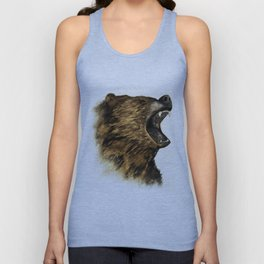 The Grizzly Unisex Tank Top