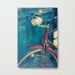 Bicicleta Metal Print