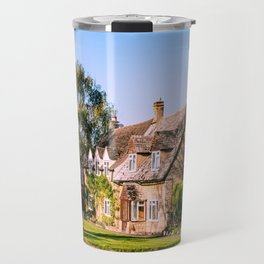 Autumn village. (v2) Travel Mug