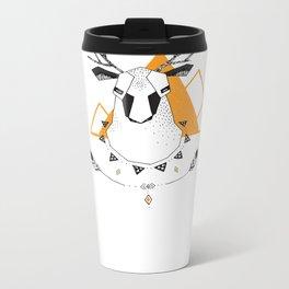 Geo Deer Metal Travel Mug