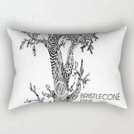 Bristlecone Pine Sketch copy Rectangular Pillow