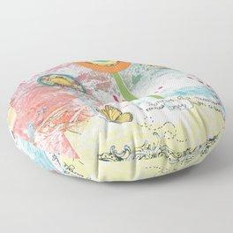Dreamtime Journey Floor Pillow