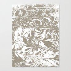 Suminagashi marble watercolor pattern art pisces water wave ocean minimal design Canvas Print