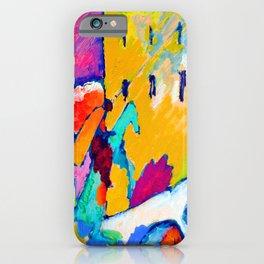 Wassily Kandinsky Improvisation III A iPhone Case