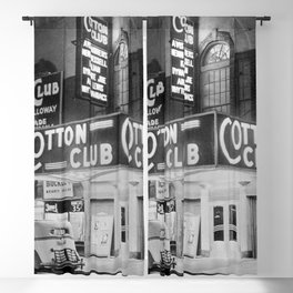 African American Harlem Renaissance Cotton Club Jazz Age Photograph Blackout Curtain