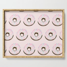 Pinky donuts Serving Tray