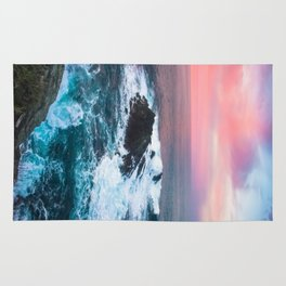 Sunset on the Bay of Biscay Rug