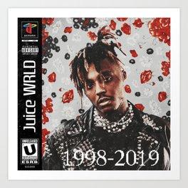 Juice WRLD (1998-2019) Art Print