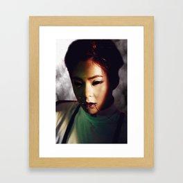 Demon Minseok Framed Art Print