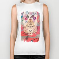 psychedelic Biker Tanks featuring Psychedelic by Pepe Psyche