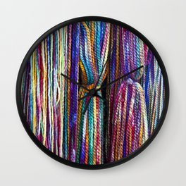 All Strung Out Wall Clock