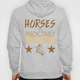 Unpredictable Horse Hoody