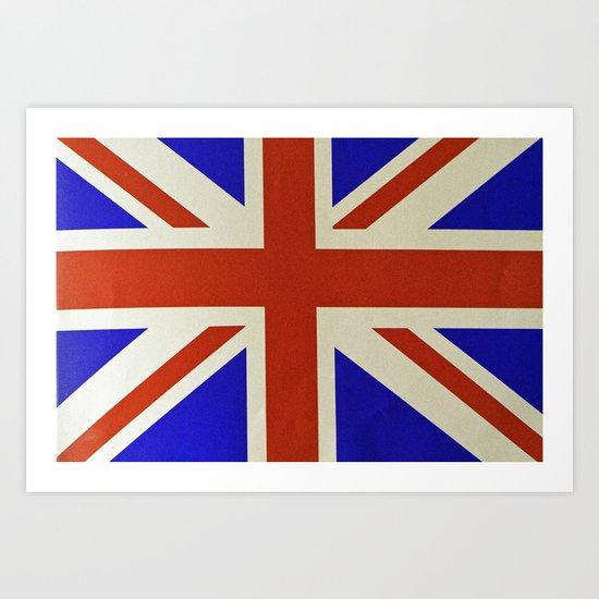 Got love England Art Print