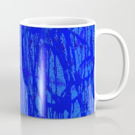 Sweet Street Graffiti - Blue Painting Coffee Mug