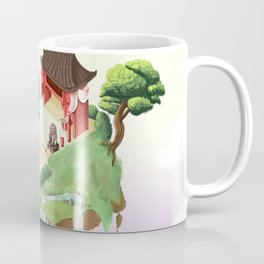 Temple in the sky Coffee Mug