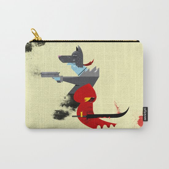Red Hood & The Badass Wolf Redux Carry-All Pouch