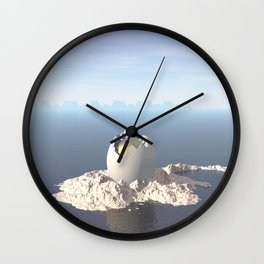Egg Island Wall Clock