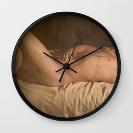 Ode to the Old Masters II Wall Clock