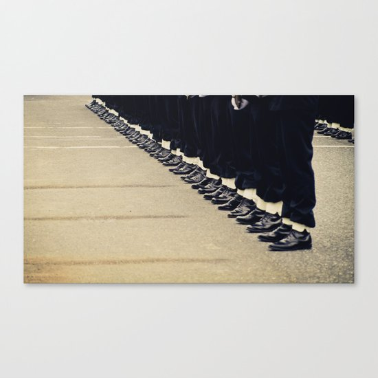 At Attention Canvas Print
