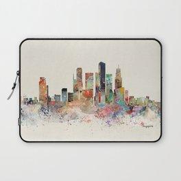 singapore skyline Laptop Sleeve