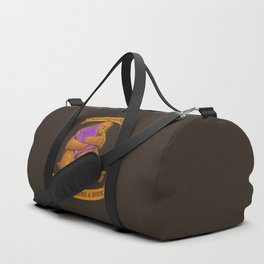 Never Alone While Reading a Book Duffle Bag