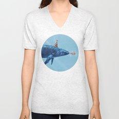 Party Whale  Unisex V-Neck