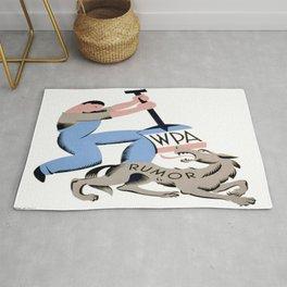 Vintage poster - Rumors Rug