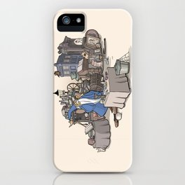 Collection of Curiosities iPhone Case