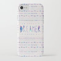 dreamer iPhone & iPod Cases featuring DREAMER by Bianca Green