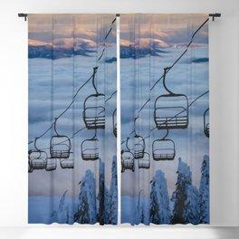LAST CHAIR Blackout Curtain