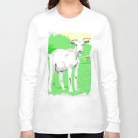 goat Long Sleeve T-shirts featuring Goat by wingnang