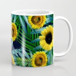 Sunflower Party #2 Coffee Mug