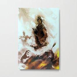 [ Daryl Dixon * Norman Reedus ] the walking dead Metal Print