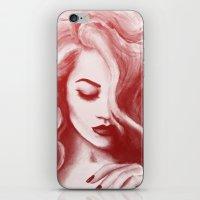 wasted rita iPhone & iPod Skins featuring RITA by F. J. Lara
