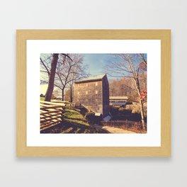 Rock Mill 4 Framed Art Print