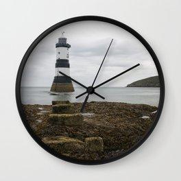 Trwyn Du Lighthouse Wall Clock