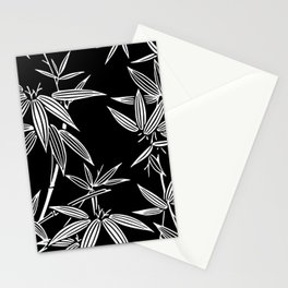 White Bamboo Stationery Cards