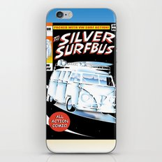 Silver Surfbus iPhone & iPod Skin