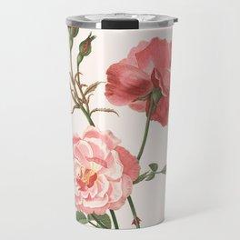 Rosa Semplerflorens Travel Mug