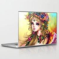 cinderella Laptop & iPad Skins featuring CINDERELLA by danyDINIZ