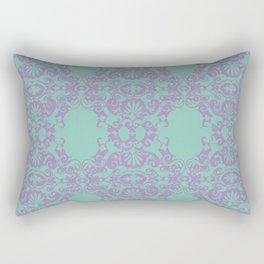 Turkise Ornament Rectangular Pillow