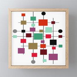 Mid-Century Modern Art 1.3.4 Framed Mini Art Print